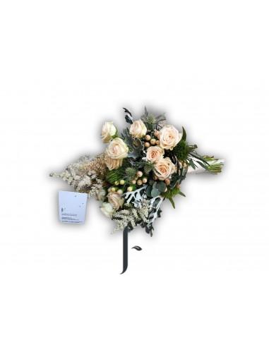 Bouquet rosas silvestre ideal novias