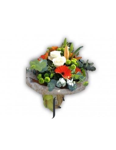 Ramo de flores gerberas y rosas
