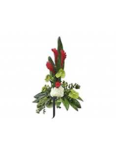 Centro de Flores Exótico