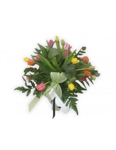 Ramo Tulipanes Arcoiris